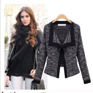 Gray blazer jacket
